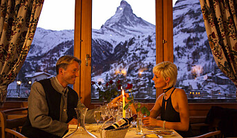 Grand Hotel Schönegg i Zermatt