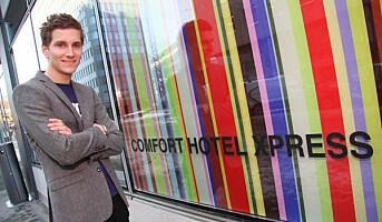 310 hotellrom revet bort på fire minutter