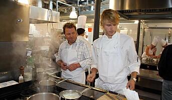 Kokkekonkurranse på Kulinarisk Akademi