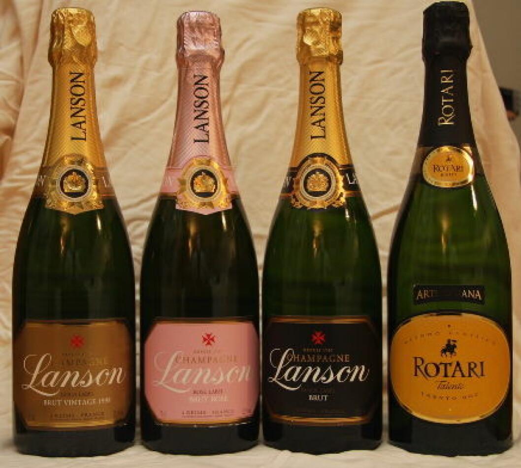 Champagne Lanson og Rotari nett