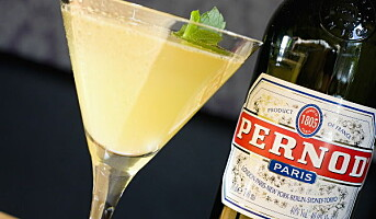Champernod til topps bartenderkonkurranse