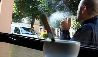Horecatrender: Røykfrie utekafeer?