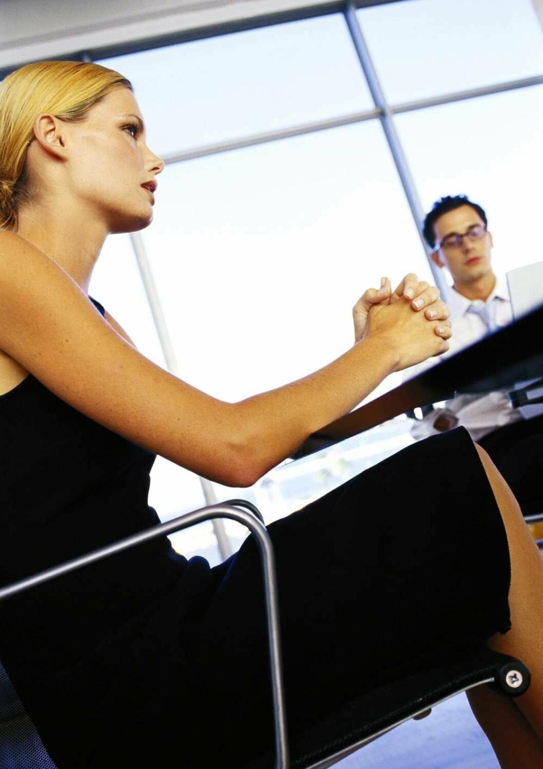 Møte, ansettelse, colourbox