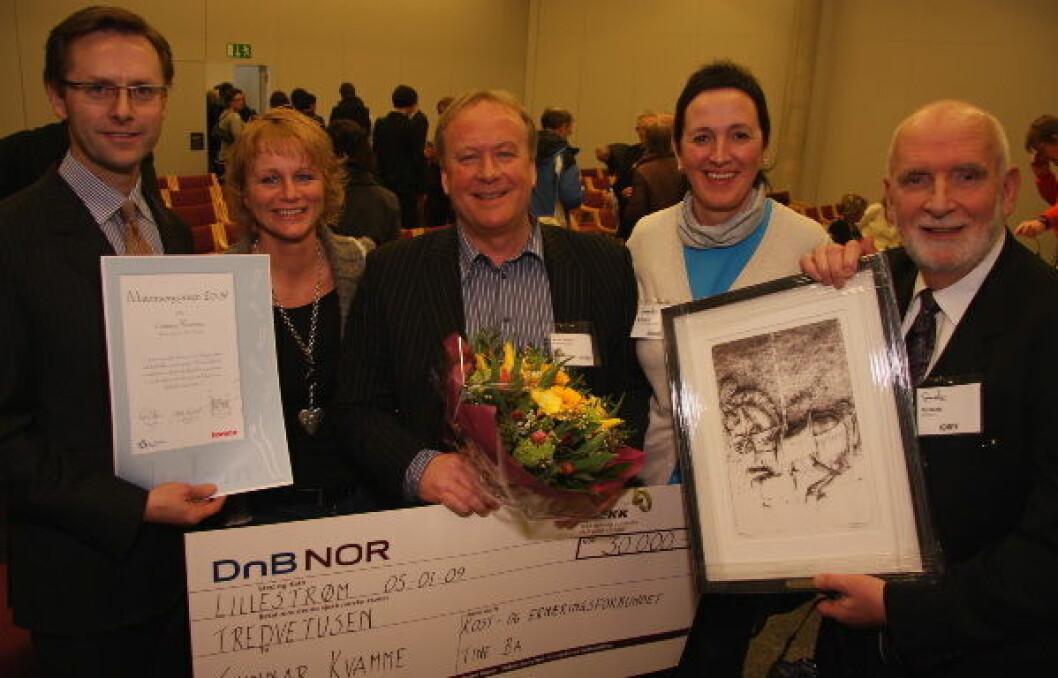 Matomsorgsprisen 2009 vinner + jury