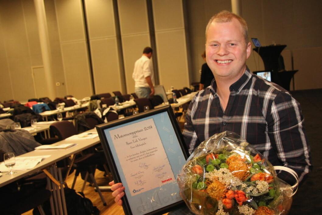 Matomsorgsprisen 2014 Bjørn Erik Vangen (55)