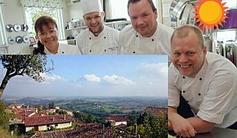 Prispenger ga inspirasjonstur til Piemonte