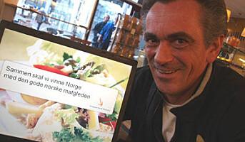 Bringer norsk matkultur ut i den store verden