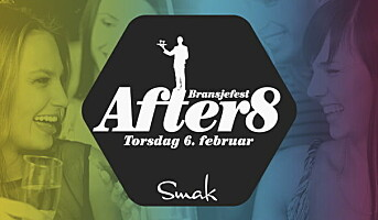 Bransjefesten After8 arrangeres torsdag kveld