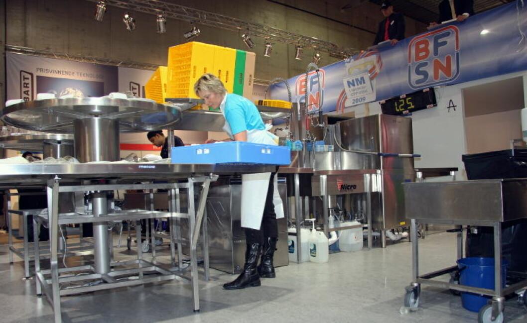 Nm i maskinoppvask illustrasjonsbilde2