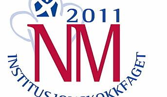 Finalister i NM i institusjonskokkfaget