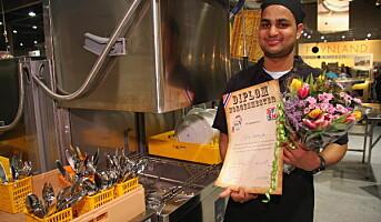 Kapil Thavarajha - vinner av NM i maskinoppvask