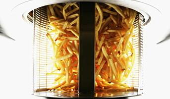Fettfri friteringsmaskin