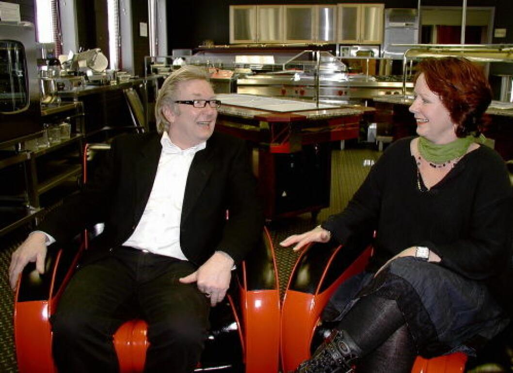 Lars og Liv Harby Storkjøkkensenteret