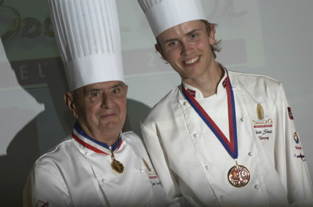 Paul Bocuse og Geir Skeie1