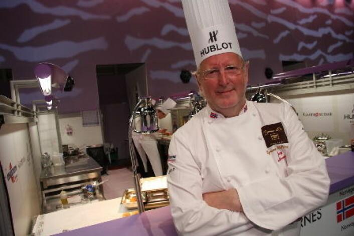 Eyvind Hellstrøm var deltaker i 1989, og har siden vært Norges jurymedlem i Bocuse d'Or. (Foto: Morten Holt)
