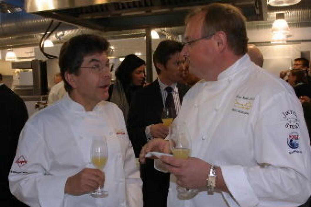 Regis Marcon og Tom Stiansen nett