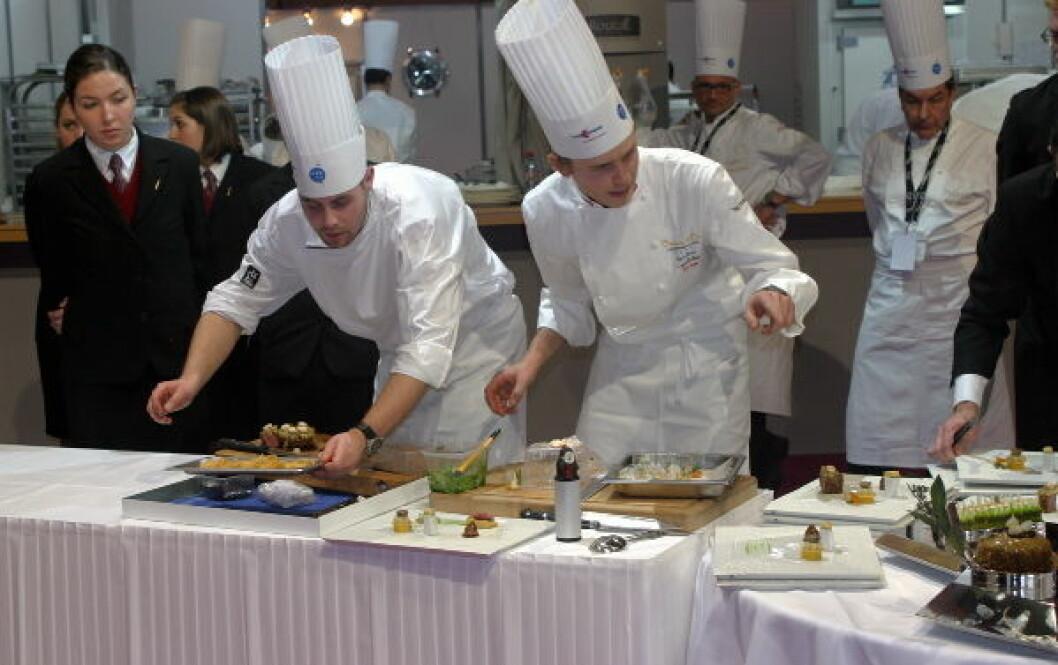 Løvvold og Skeie tilbereder Lyon1