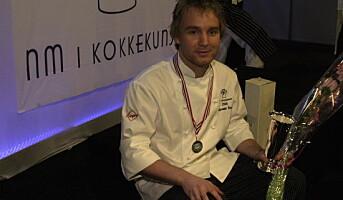 Alexander Berg vant NM i kokkekunst