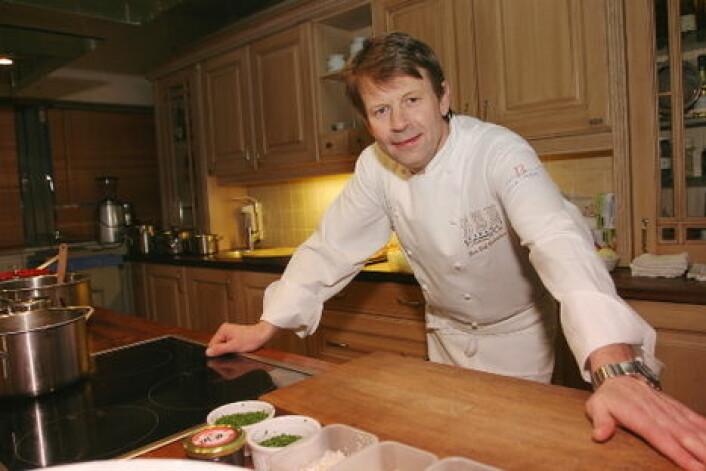 Lars Erik Underthun ble Norges første medaljevinner i Bocuse d'Or i 1991 - da han vant sølv. (Foto: Morten Holt)
