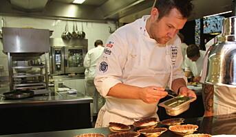 Årets kokk 2015: Christopher W. Davidsen