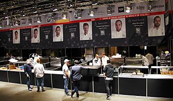 Rigget og klart for Årets kokk 2015