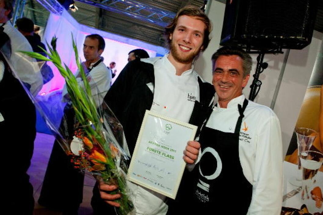 SimonEngen sammen med Harald Osa.