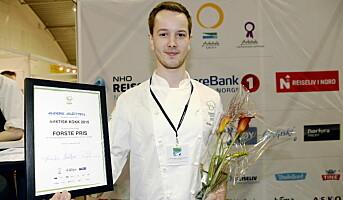 Hoelstuen-kokk vant Arktisk Kokk 2015