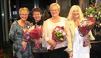 Fire ansatte – 147 år på Hurdalsjøen Hotell