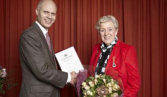 Mills-veteran fikk Kongens fortjenstmedalje