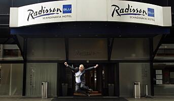 Globetrotter til Radisson Blu Scandinavia