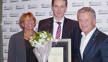 Kjetil Engum er Årets Unge Hotelier