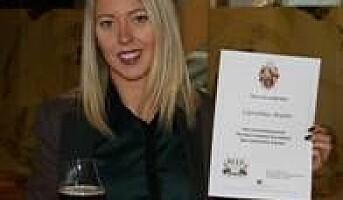 Nordens første kvinnelige ølsommelier