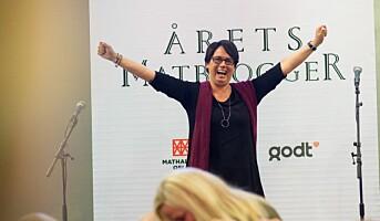 Sandberg er årets matblogger