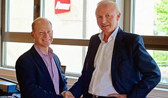 Kaffehuset Friele blir til Jacobs Douwe Egberts Norge AS