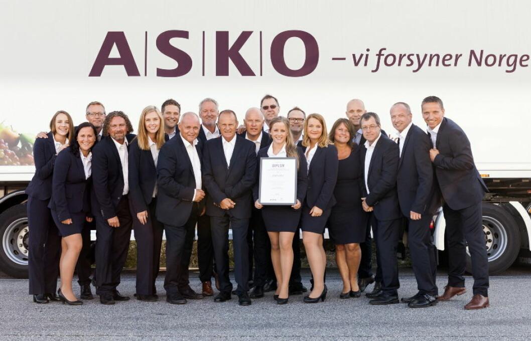 ASKO Årets ASKO-grossist selskap 2015
