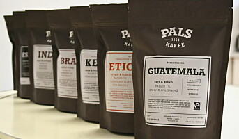Pals lanserer ny serie med sporbar kaffe