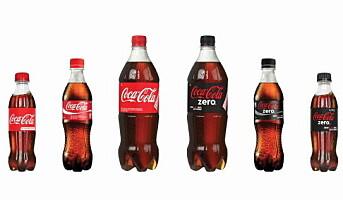 Coca-Cola med ny flaskestørrelse