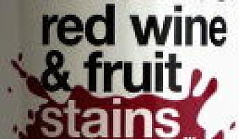 Fjerner rødvins- og fruktflekker