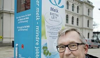 Norge største melkekartong