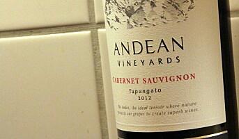 Vin fra foten av Andesfjellene