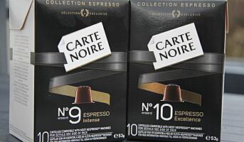 Carte Noire for Nespresso-maskiner