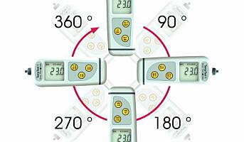 TempTest termometer med roterende display
