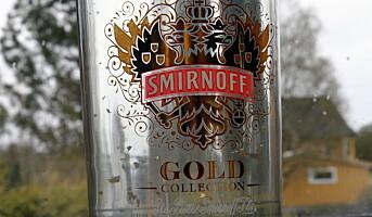 Vodka med gullflak