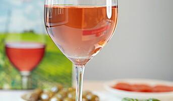 Sterk økning i salget av rosévin