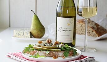 Oppskriftshefte på Bonterra Chardonnay i sommer