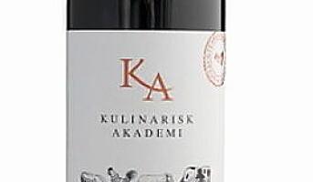 KA-kokkene med KA Økologisk Rødvin
