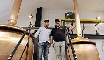 Verdenspremiere på norsk-japansk øl