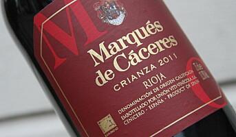 Marqués de Cáceres Crianza - med skrukork