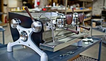 Eneste kaffemaskinprodusenten i Norden