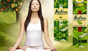Ny grønn iste søtet med Stevia